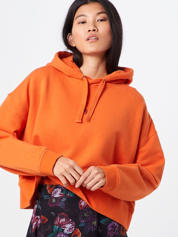 tigha Sweatshirt 'Leonie' in orange: Frontalansicht