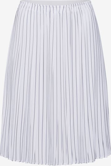 re.draft Svārki 'Printed Plissée Skirt' pieejami balts, Preces skats