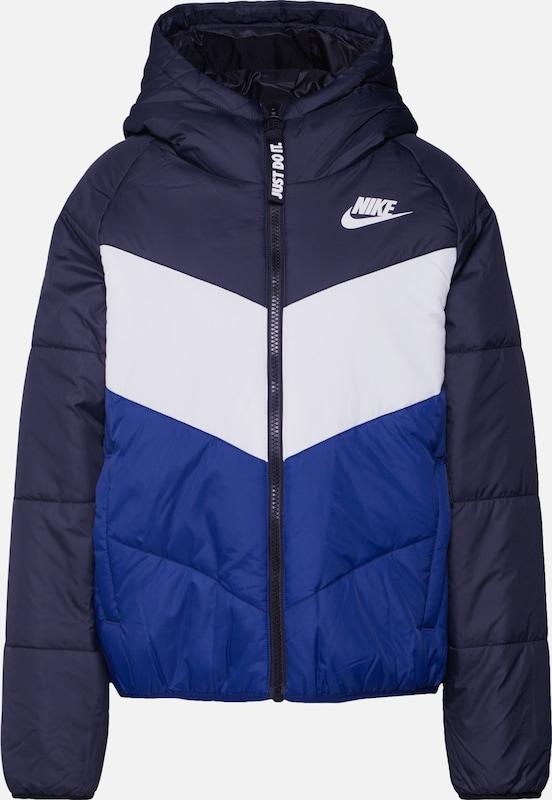 Nike Sportswear Winter Steppjacke Dunkelblau