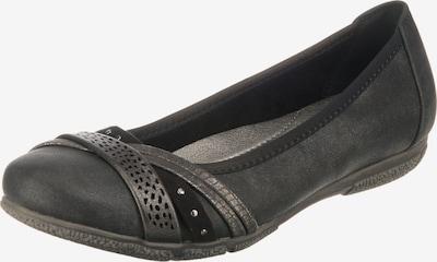 JANE KLAIN Klassische Ballerinas in dunkelgrau / schwarz, Produktansicht