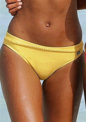 BUFFALO Bikinihousut 'Happy' värissä keltainen