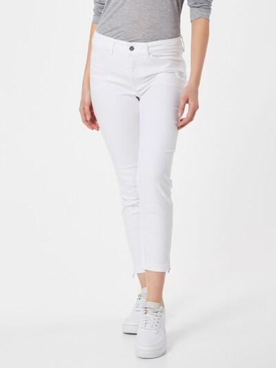 MAC Jean 'DREAM CHIC' en blanc, Vue avec modèle