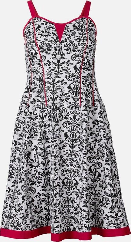 JOE braunS Kleid in rot   schwarz   weiß  Neue Kleidung in dieser Saison