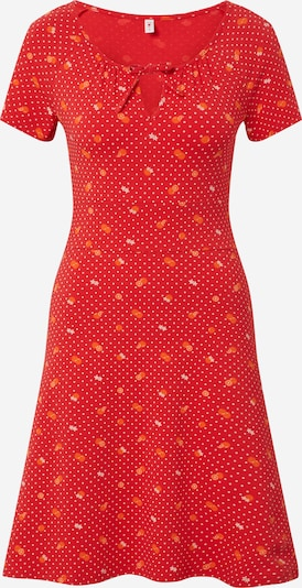 Blutsgeschwister Šaty 'Sunshine boulevard' - oranžově červená, Produkt