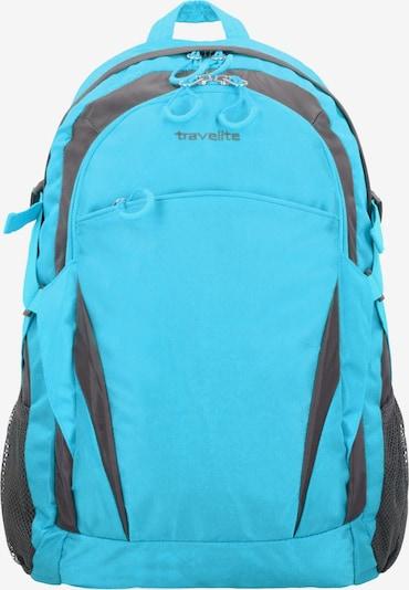 TRAVELITE Rucksack in hellblau / dunkelgrau, Produktansicht