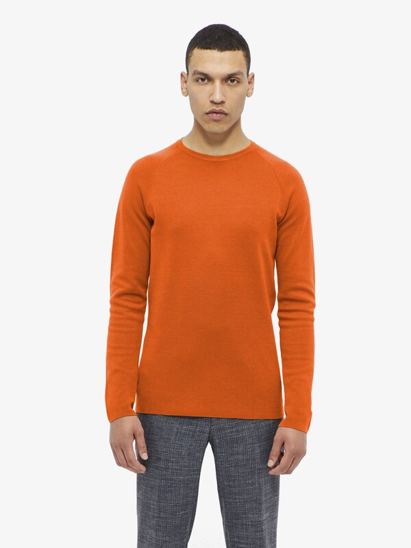 J.lindeberg Sweat-shirt Milano À Col En «serge»