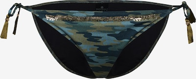 watercult Bas de bikini en bleu / vert / noir, Vue avec produit