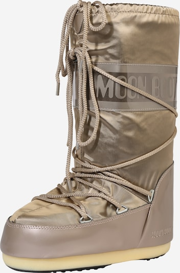 MOON BOOT Snowboot 'Glance' in gold / platin, Produktansicht