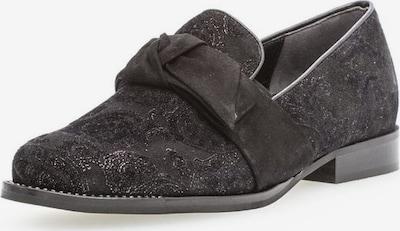 GABOR Slipper in schwarz / silber, Produktansicht