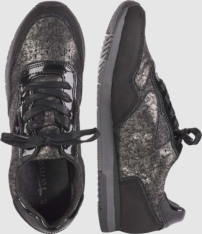 TAMARIS Sneakers mit Metallic-Design