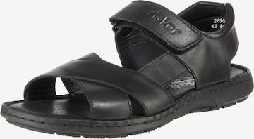Sandales RIEKER en noir