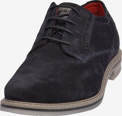 Pantofi cu șireturi bugatti pe albastru noapte, Vizualizare produs
