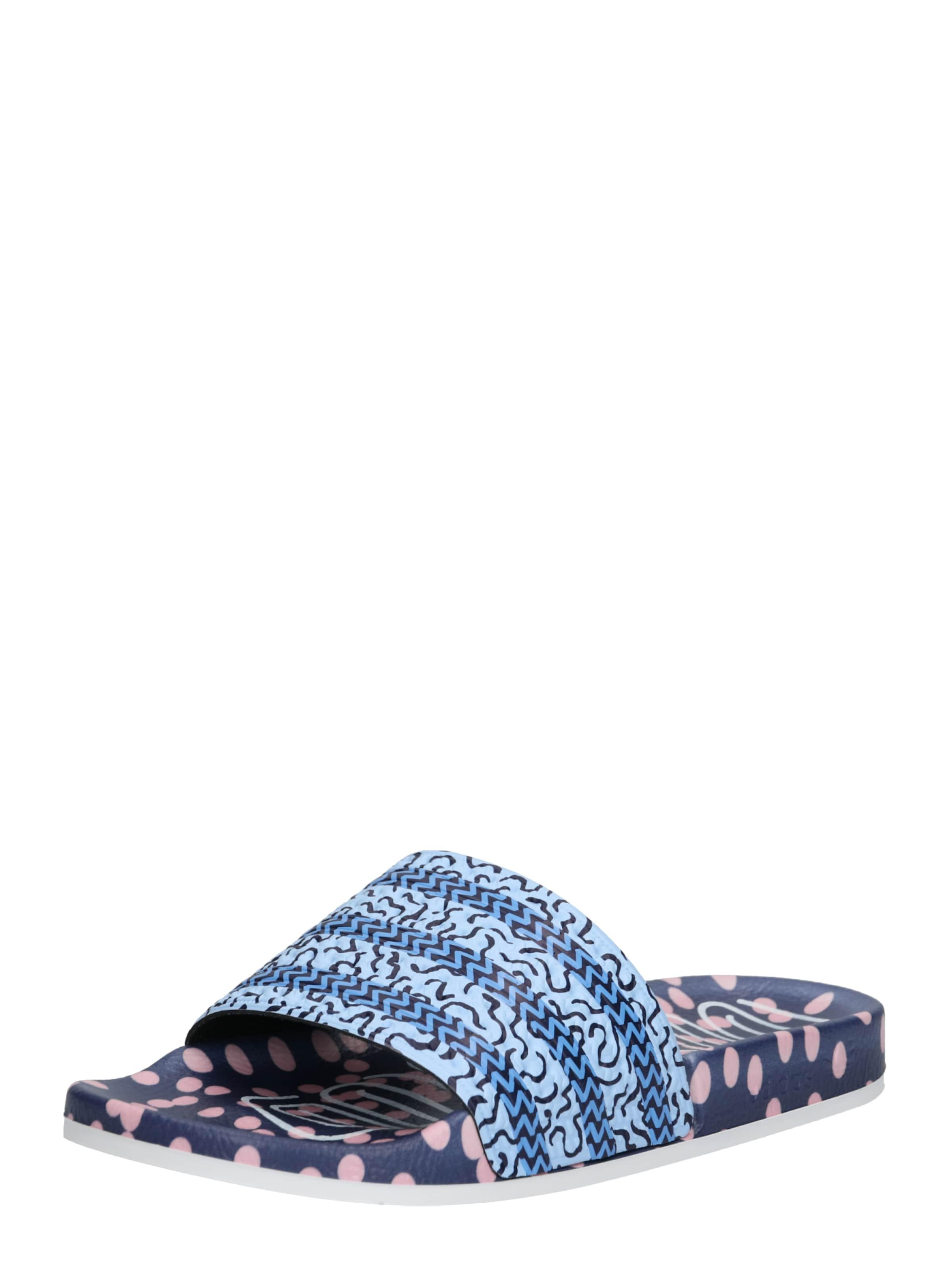 Adidas 'adilette In W' Pantolette Originals Blau w0PknO8X