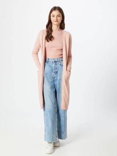 Kardiganas iš VILA , spalva - pastelinė rožinė, Modelio vaizdas