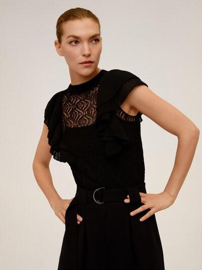 MANGO Pullover in schwarz, Modelansicht