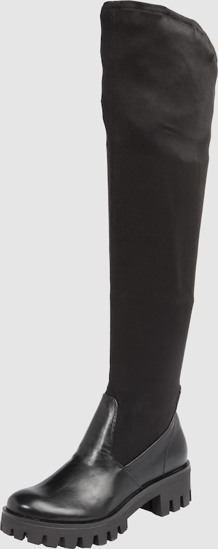 TAMARIS Overknees mit stretchigem Textil