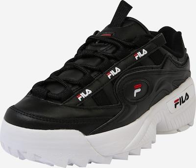 FILA Sneakers laag 'BIANCO D-Formation' in de kleur Rood / Zwart / Wit, Productweergave