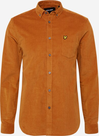 Lyle & Scott Overhemd in de kleur Karamel, Productweergave