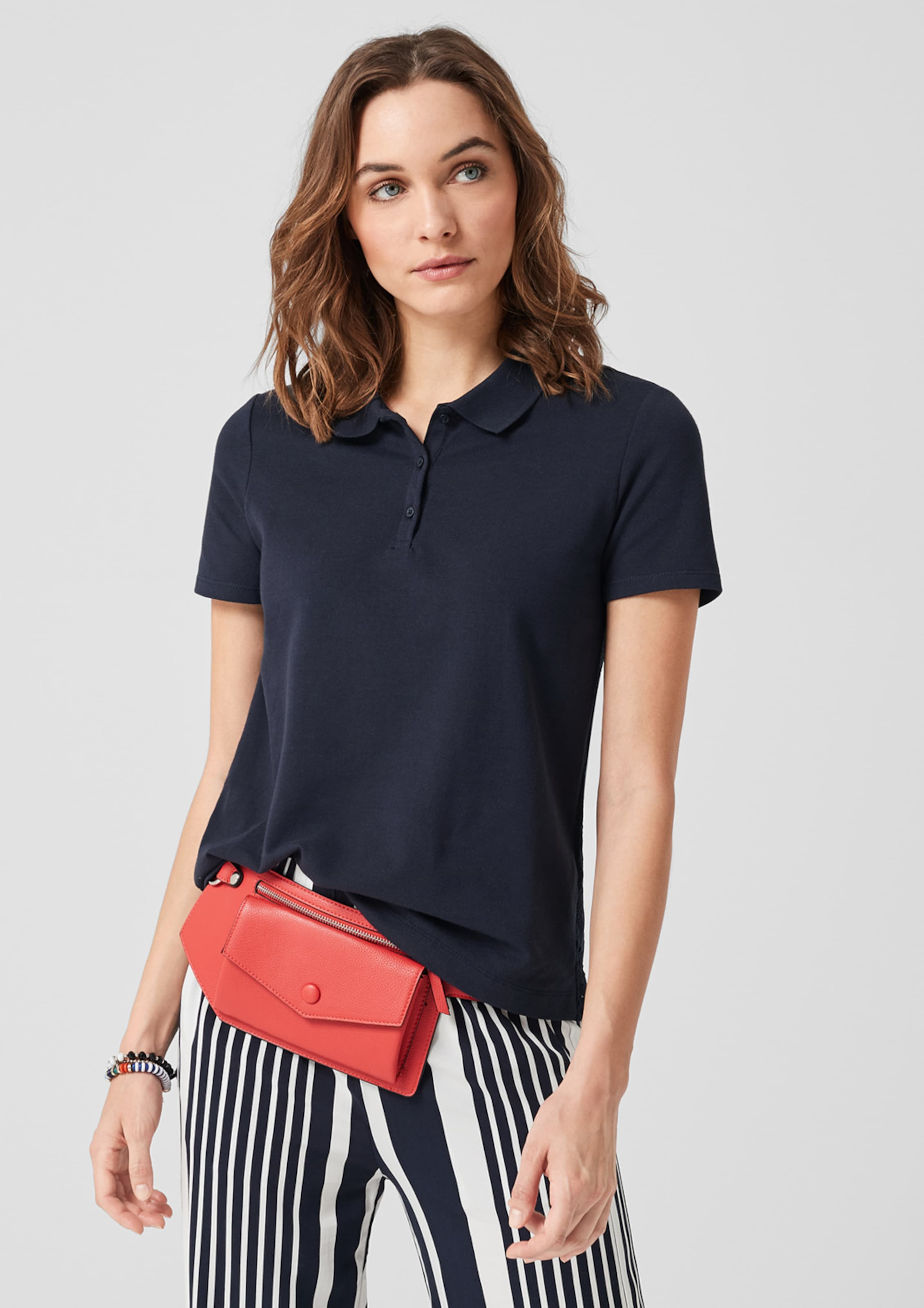 oliver Blau In S Red Poloshirt Label PwN8kZnO0X