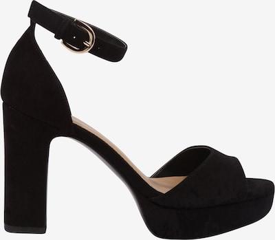 ABOUT YOU Sandalette 'CAITRIONA' in schwarz: Seitenansicht