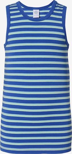 SANETTA Unterhemd in blau / hellblau, Produktansicht