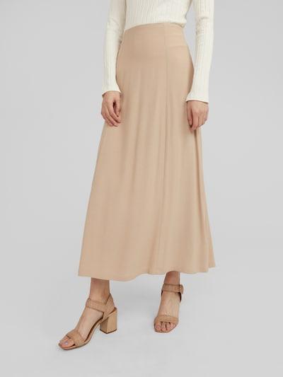 EDITED Spódnica 'Heidy' w kolorze beżowym, Podgląd na modelu(-ce)