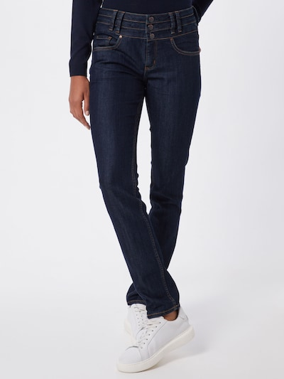 Q/S designed by Jeans 'CATIE' in blue denim: Frontalansicht