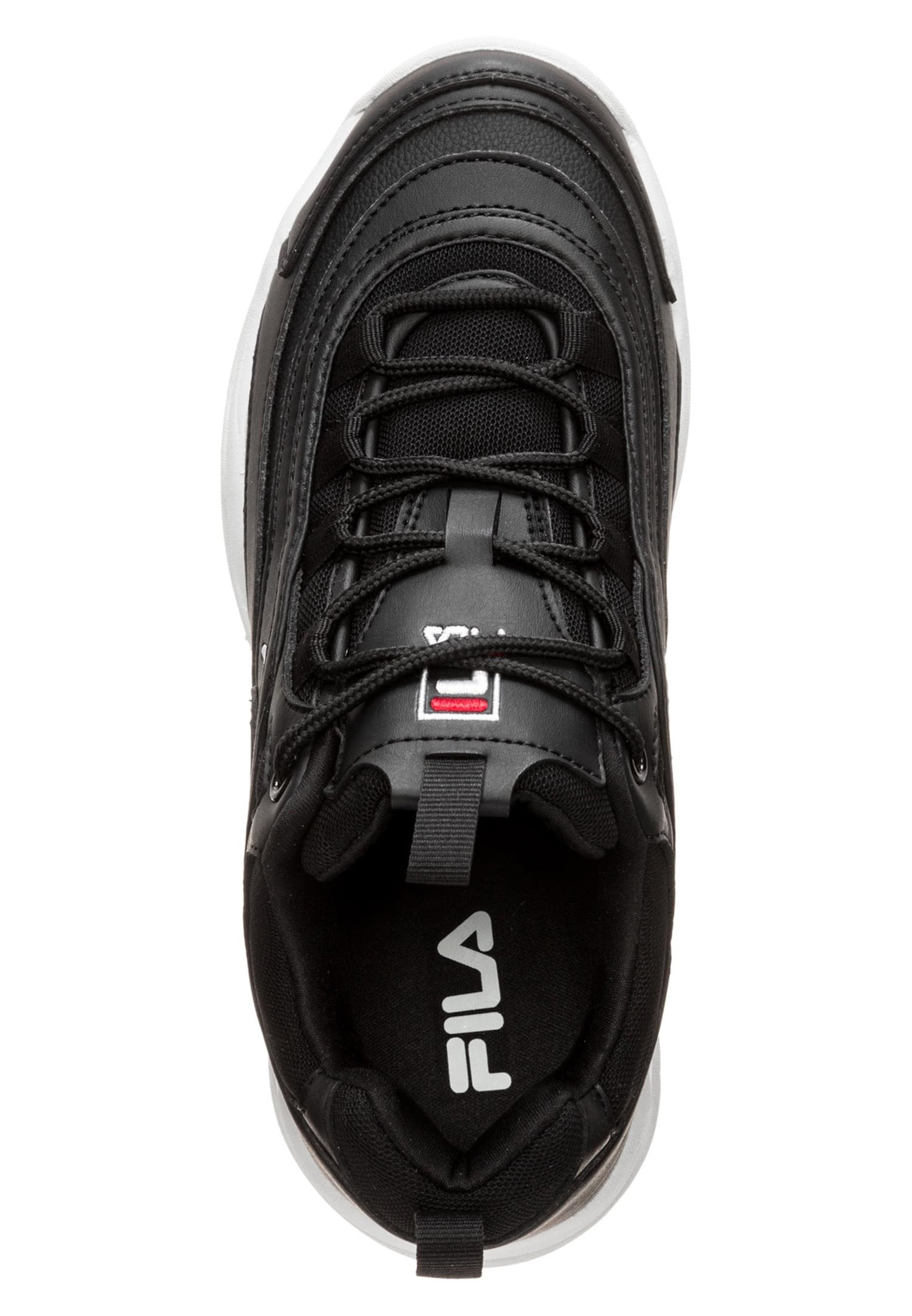 'ray In Wmn' Weiß Sneaker RotSchwarz Fila Low hrQxtdCBs