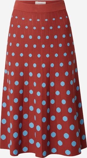 NÜMPH Suknja 'Nubravery' u svijetloplava / karmin crvena, Pregled proizvoda
