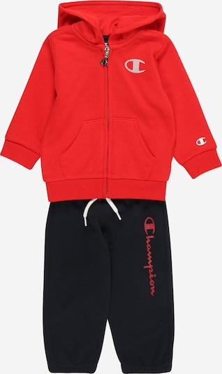 Champion Authentic Athletic Apparel Set in de kleur Navy / Rood, Productweergave