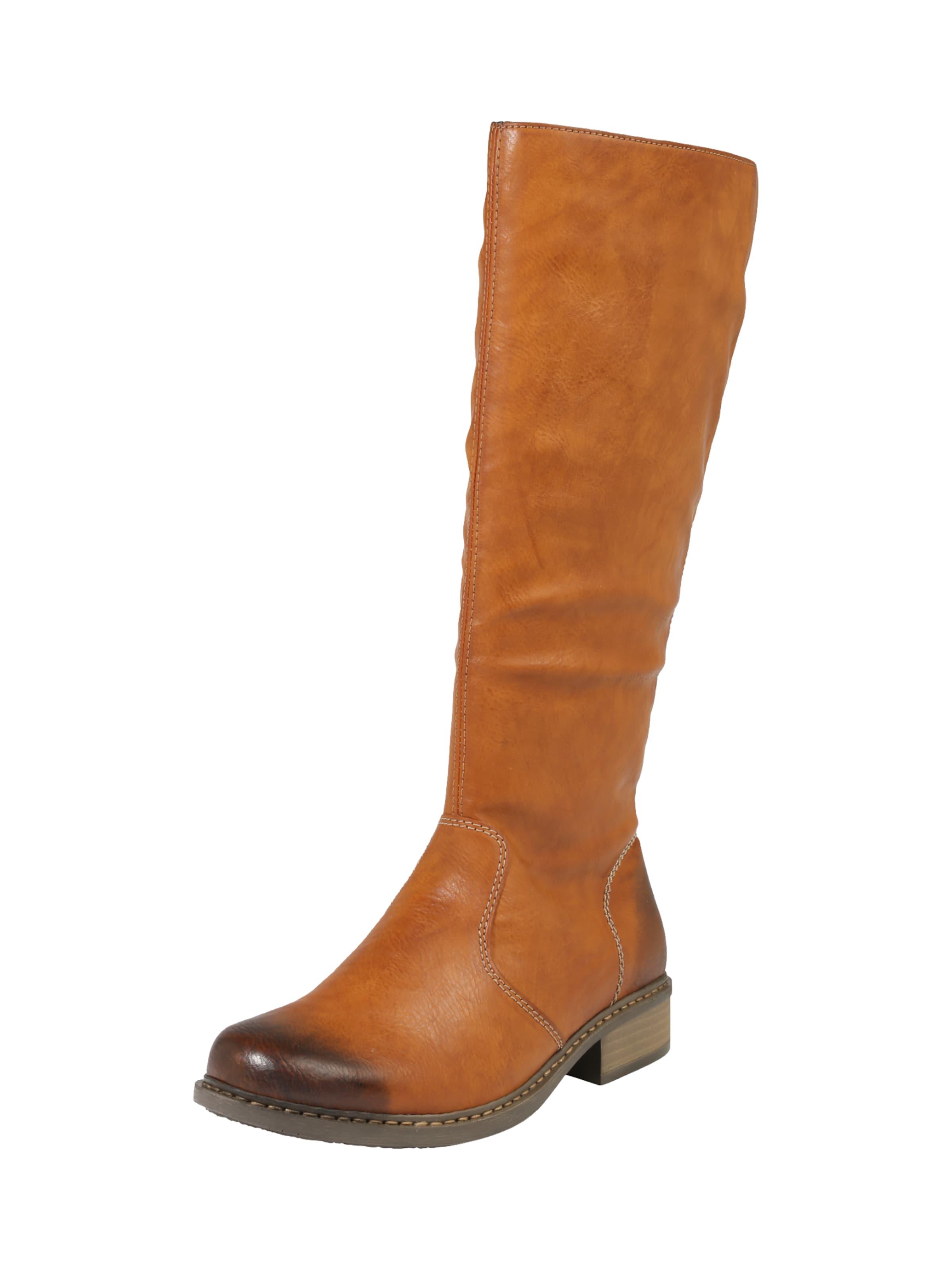 Haltbare Mode billige Schuhe RIEKER | Stiefel im Vintage-Look Schuhe Gut getragene Schuhe