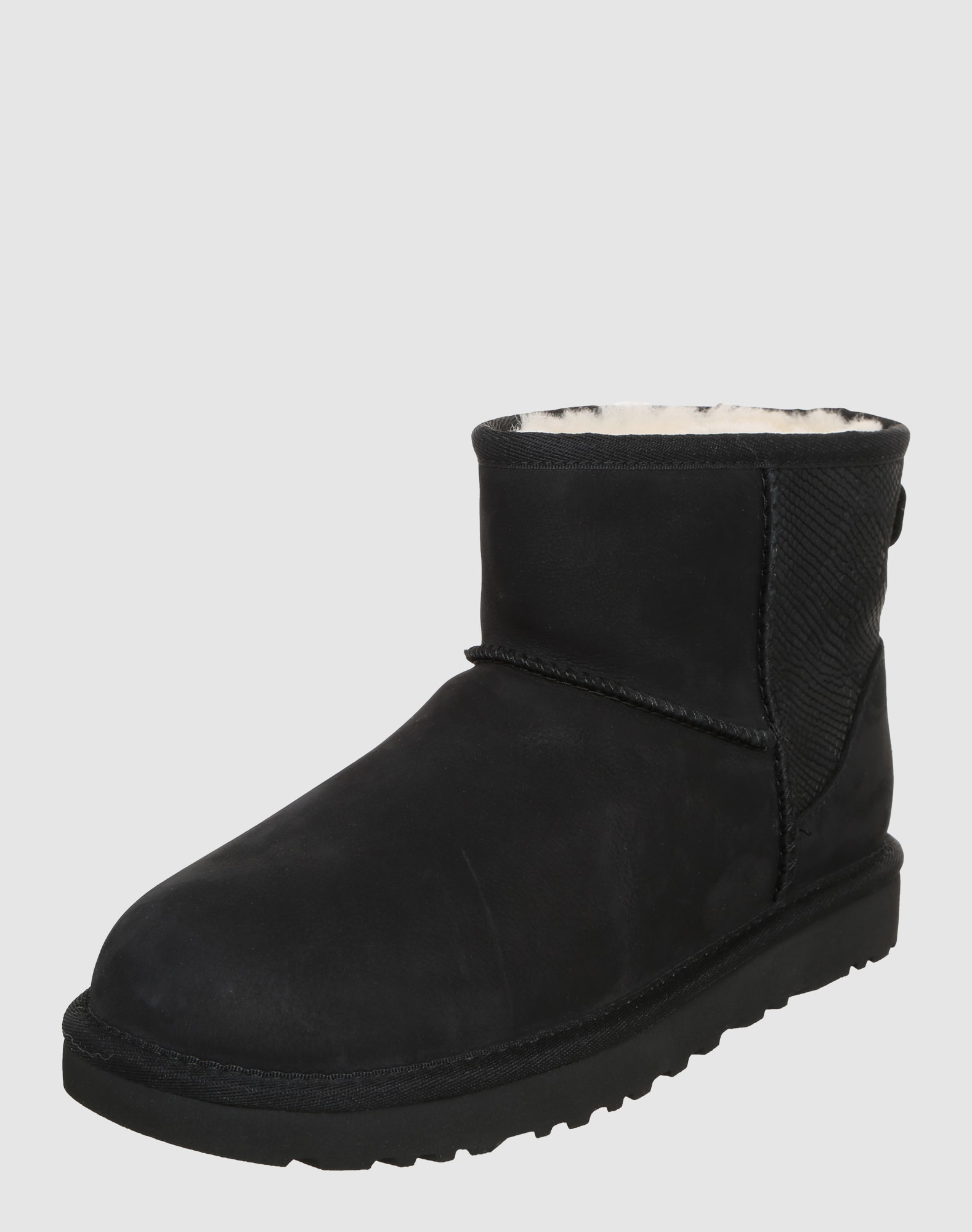 ugg snowboots 39 classic mini ii snake 39 in schwarz about you. Black Bedroom Furniture Sets. Home Design Ideas