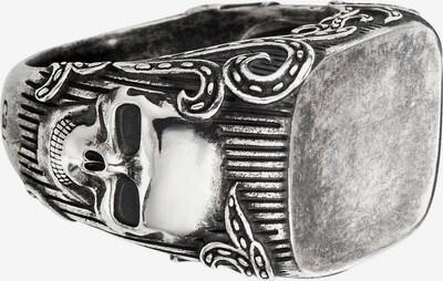 caï Ring 'C4165R' in schwarzmeliert / silber, Produktansicht