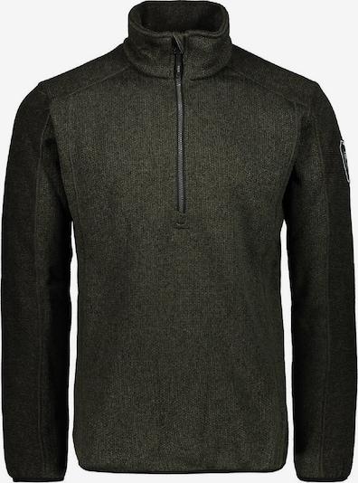 CMP Pullover 'Knittech Jaquard' in tanne / dunkelgrün, Produktansicht