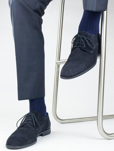 PATRON SOCKS Socken 'Nautic Socks' in marine / dunkelblau, Modelansicht