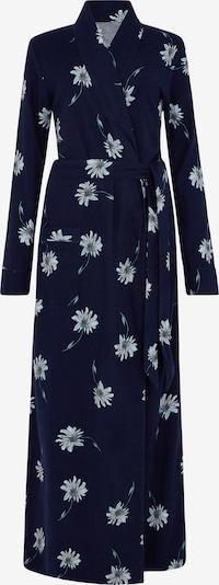 Long Tall Sally Bademantel mit Blumenmuster für große Frauen in blau / marine, Produktansicht