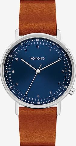 Komono Analog Watch 'Lewis KOM-W4072' in Brown