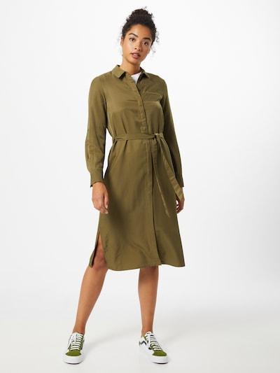OBJECT Kleid 'Eileen' in oliv, Modelansicht