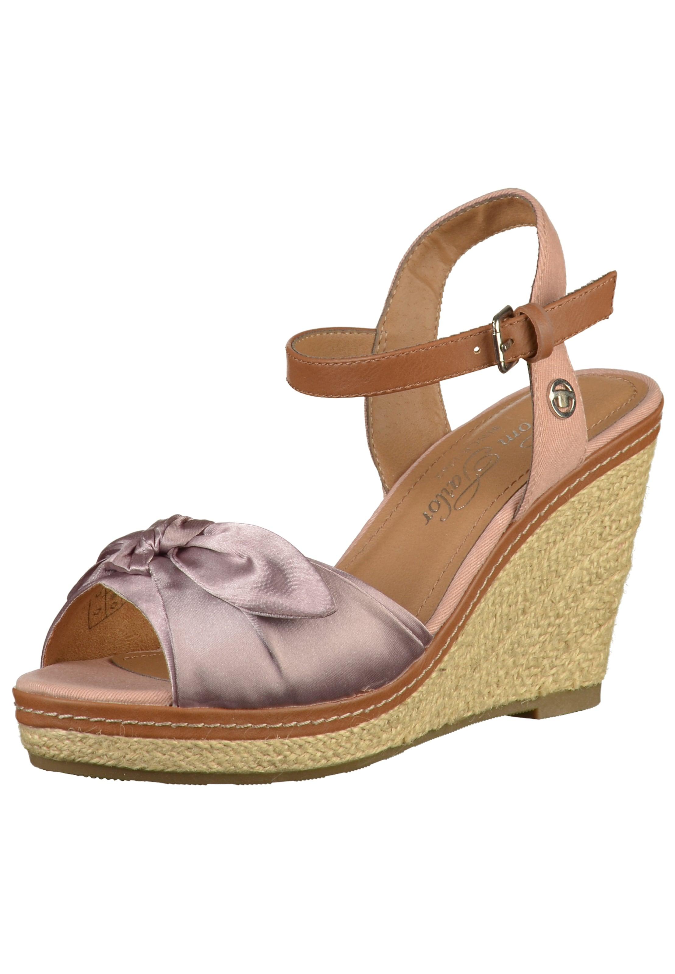 TOM TAILOR Sandalen Verschleißfeste billige Schuhe