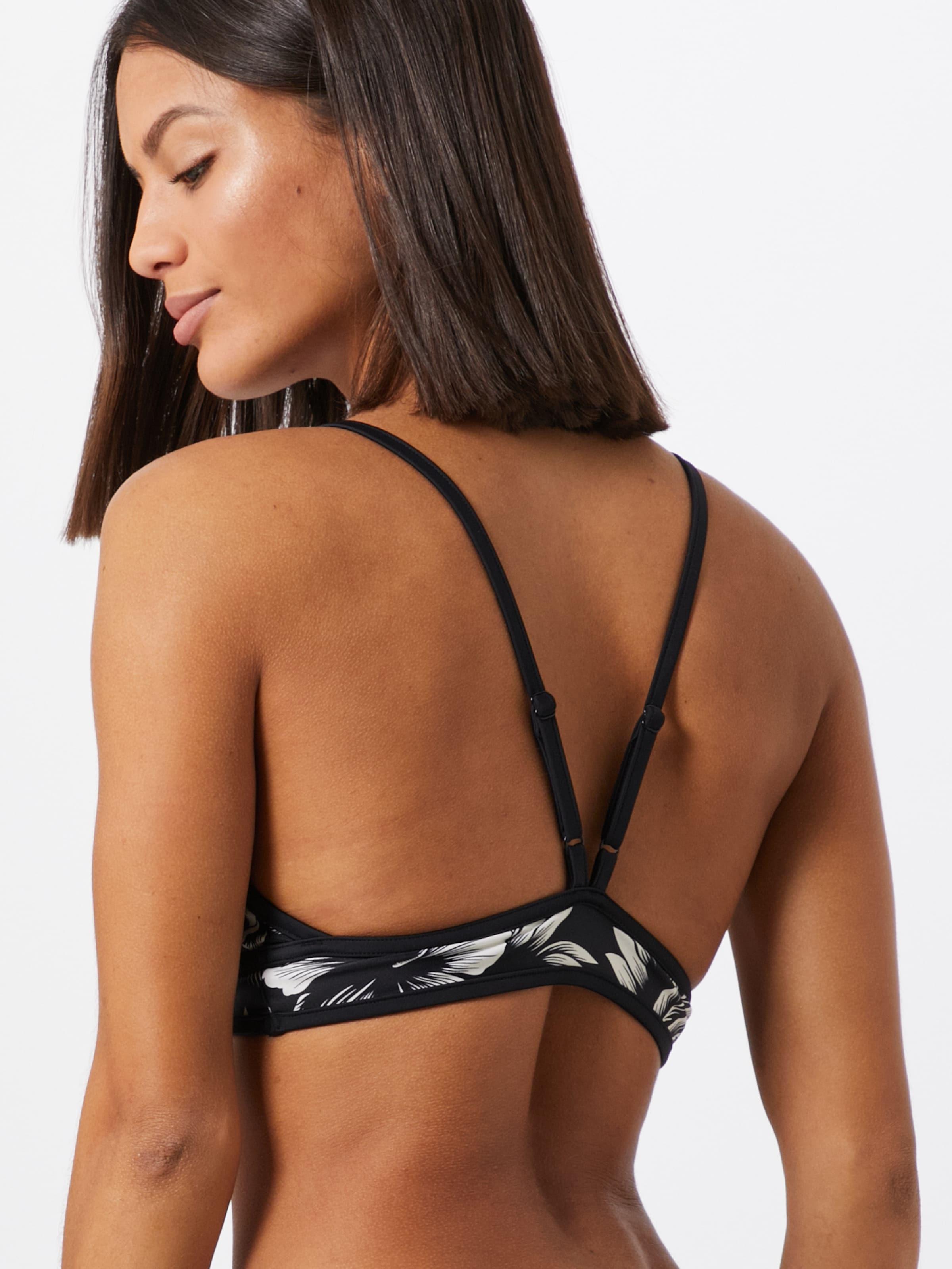 RIP CURL Bikiniöverdel 'MIRAGE ' i svart / vit
