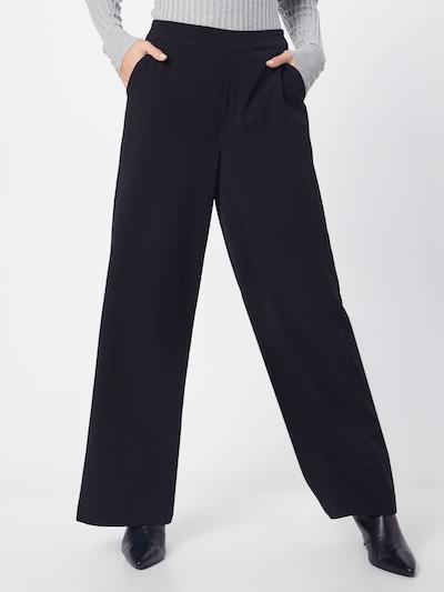 Pantaloni 'OBJCECILIE WIDE PANTS PB7' OBJECT pe negru, Vizualizare model