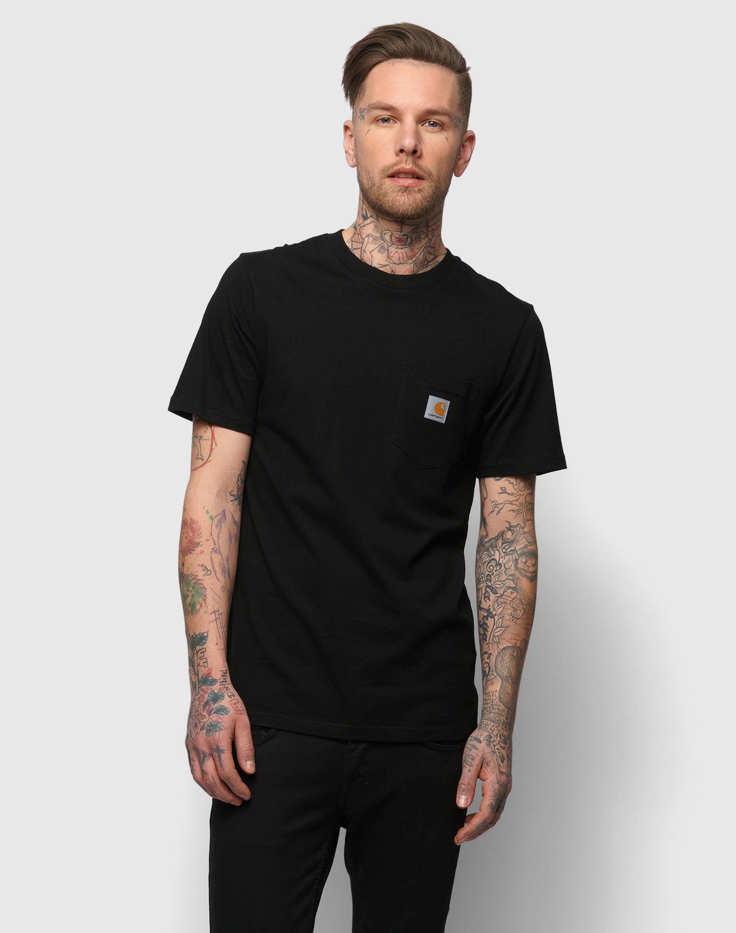 Wip En Carhartt T shirt Noir SUzVpM