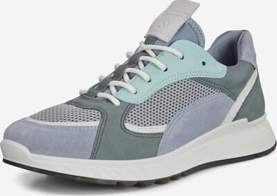 Sneaker low ECCO pe albastru fum / albastru pastel, Vizualizare produs