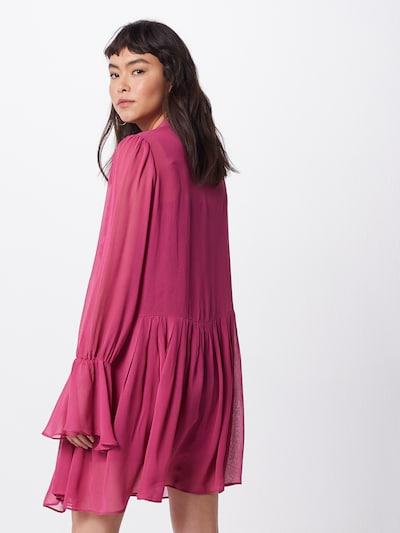 Farina Opoku Sukienka koszulowa w kolorze ciemnoróżowym: Widok od tyłu