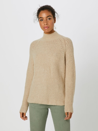 ONLY Sweter 'VEGA' w kolorze beżowym: Widok z przodu