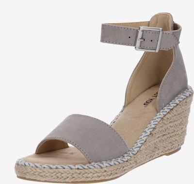 ABOUT YOU Sandały 'Leona' w kolorze szarym, Podgląd produktu
