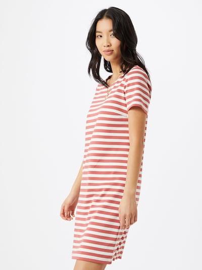 VILA Jurk 'VITinny New' in de kleur Rood / Wit, Modelweergave