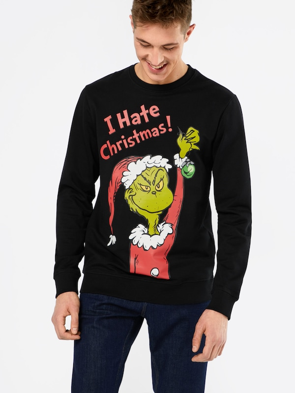 Only & Sons Sweatshirt 'GRINCH'