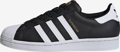 ADIDAS ORIGINALS Zemie brīvā laika apavi 'Superstar', krāsa - Zelts / melns / balts, Preces skats