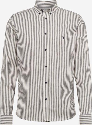 Les Deux Hemd 'Simon' in dunkelblau / weiß, Produktansicht